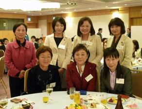 2011年11月 民主党全国女性議員ネットワーク集会 学習会の後の懇親会