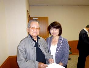 2011年9月 委員会視察 北海道 神内ファーム会長と