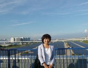 2011年9月 川崎扇島メガソーラー視察