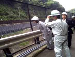 2011年6月 県の災害廃棄物受け入れをうけてかながわ環境整備センター視察