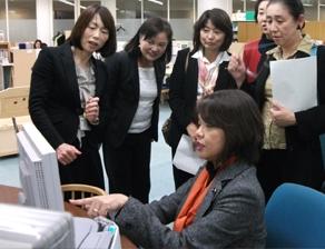 2011年10月 京都マザーズジョブカフェ視察