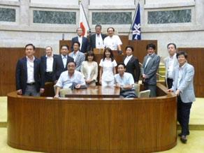 2012年8月 北海道議会 訪問 意見交換