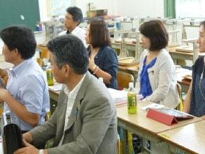 2012年9月 志布志市伊崎田保育園 現地調査