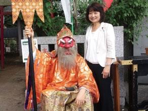 2012年9月 日枝神社大祭 猿田彦と