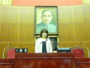 2012年7月 台北市議会視察