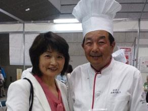 2012年6月 全国食育フェスティバル 横浜にて