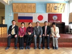 2018年4月 モスクワ教育事情調査 日本人学校(1)