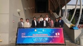 2018年3月 日タイ議連 バンコク視察 タイ地理情報・宇宙技術開発機関GISD