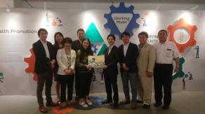 2018年3月 日タイ議連 バンコク視察 タイ健康促進財団