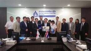 2018年3月 日タイ議連バンコク視察 泰日工業大学