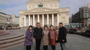 2018年4月 モスクワ教育事情調査 ボリショイ劇場(1)