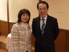 2012年3月 勁草塾市民フォーラム               「東日本大震災と日本経済」菅 直人前総理と