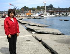 2011年4月 2度目の北茨木市訪問 復旧の進む大津港